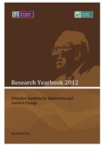 2012 Whitaker Institute Publications Yearbook